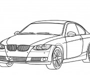 Coloriage Auto BMW M3