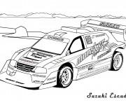 Coloriage et dessins gratuit Auto de course 49 à imprimer