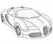 Coloriage et dessins gratuit Auto de course Maybach à imprimer