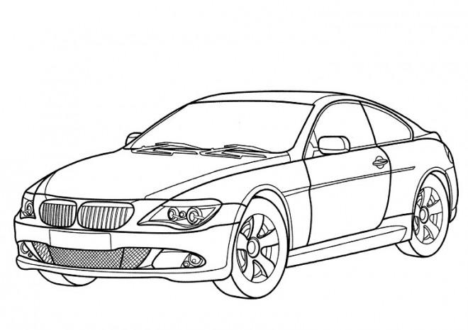 Coloriage et dessins gratuits BMW M3 en ligne à imprimer
