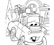 Coloriage et dessins gratuit Cars Disney 50 à imprimer