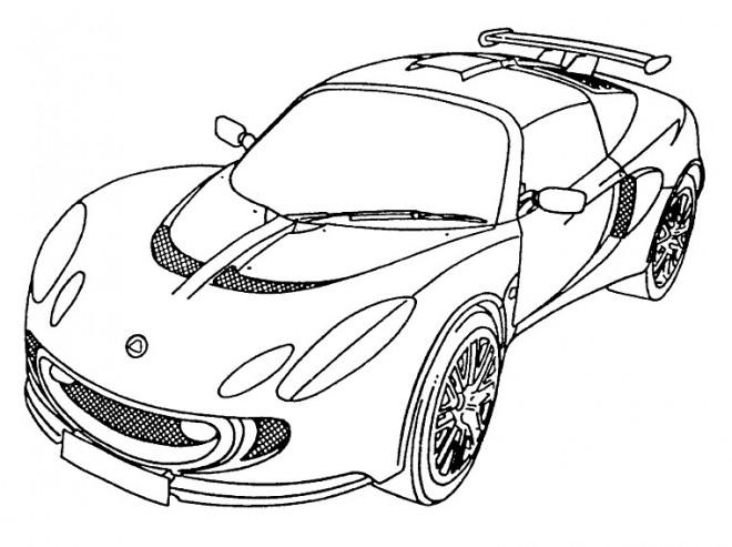 Coloriage et dessins gratuits Lamborghini couleur à imprimer