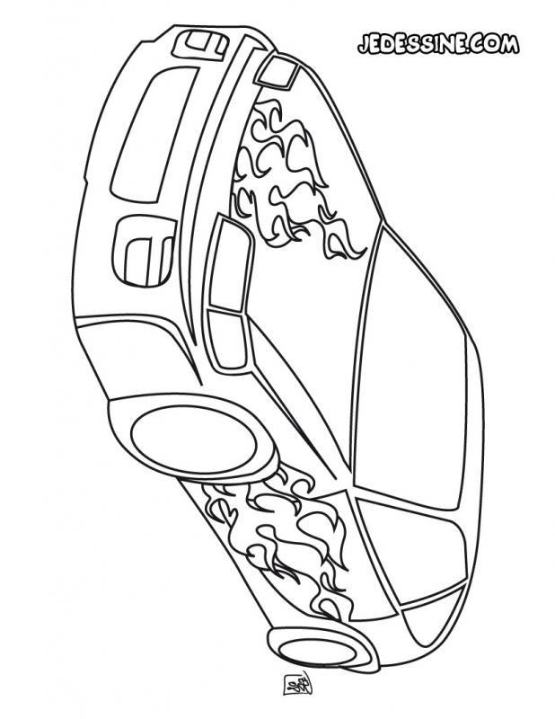 coloriage voiture tuning 44 dessin gratuit imprimer. Black Bedroom Furniture Sets. Home Design Ideas