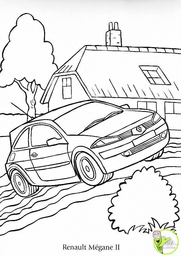 Coloriage et dessins gratuits Voiture Tuning adulte à imprimer