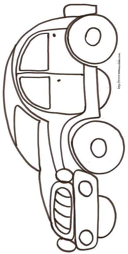 Coloriage et dessins gratuits Voiture Tuning au crayon à imprimer
