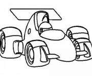 Coloriage Auto Formule 1