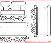 Coloriage Locomotive 23