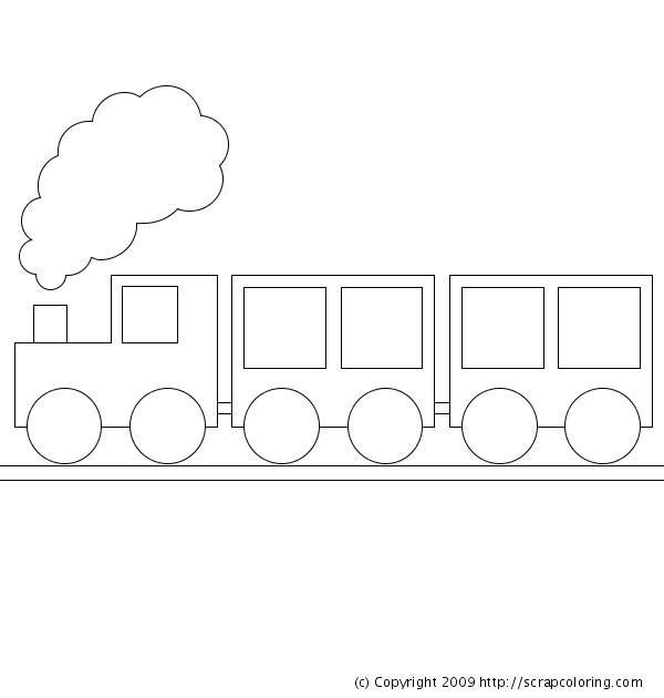 Coloriage et dessins gratuits Train à colorier deux Wagon à imprimer