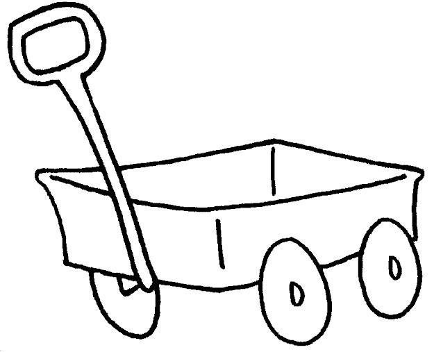 Coloriage et dessins gratuits Wagon facile à imprimer