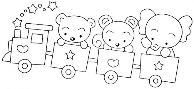 Coloriage et dessins gratuits Wagon pour enfant à imprimer